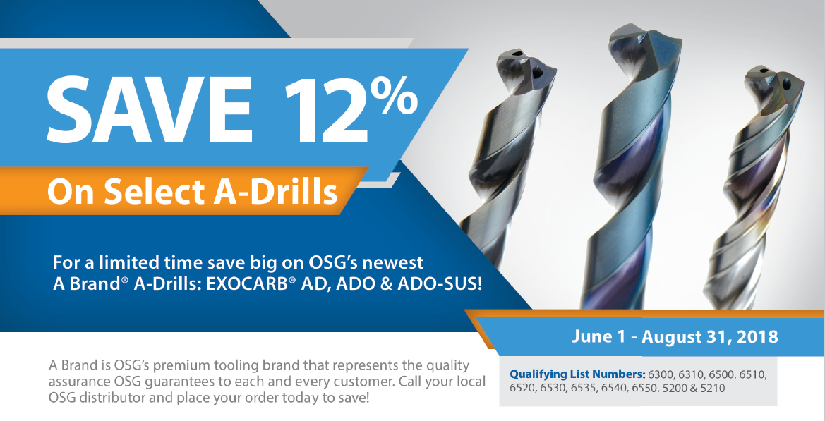 OSG Drill Promotion 2018
